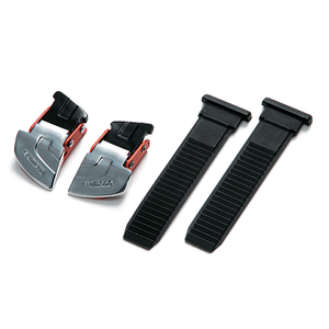 Shimano M310/R310 Buckle and Strap Set - Silver/Red