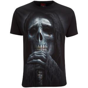 T-Shirt Homme Spiral Requiem -Noir