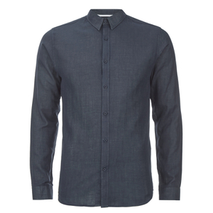 Selected Homme Men's Donenelson Long Sleeve Shirt - Dark Sapphire