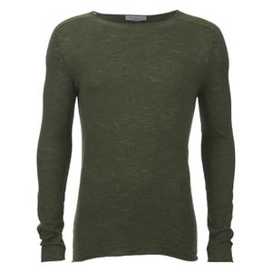 Selected Homme Men's Denton Crew Neck Sweatshirt - Dark Green