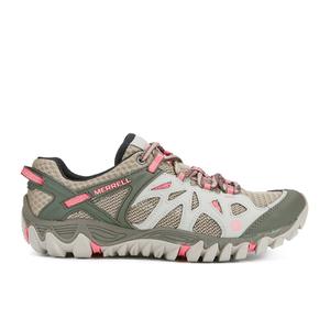 Merrell Women's All Out Blaze Aero Sport Shoes - Beige/Khaki