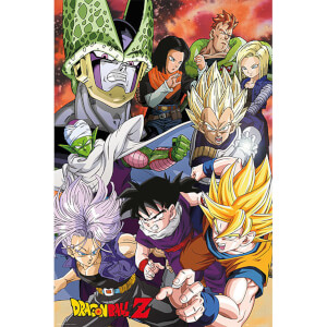 Dragon Ball Z Cell Saga - 24 x 36 Inches Maxi Poster