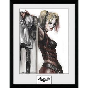 DC Comics Arkham City Harley Quinn - 16 x 12 Inches Framed Photographic