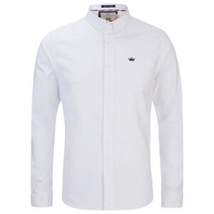 Camisa manga larga Brave Soul Pompeii - Hombre - Blanco