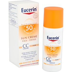 Eucerin? Sun Protection Face Sun Cr?me Tinted SPF 50+ 50ml