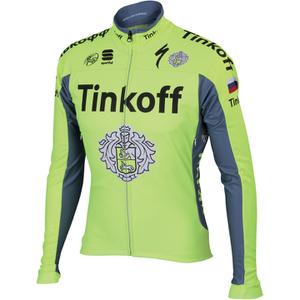 Tinkoff BodyFit Pro Windstopper Jacket 2016 - Yellow