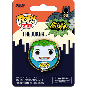 DC Comics Batman Classic 1966 The Joker Pop! Pin