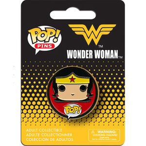 DC Comics Wonder Woman Pop! Pin Badge