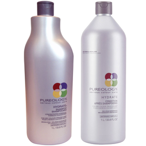 Pureology Hydrate Shampoo and Conditioner (1000 ml)