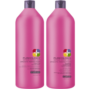Shampoo e Condicionador Smooth Perfection da Pureology (1000 ml)