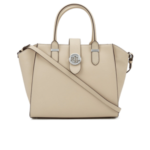 Lauren Ralph Lauren Women's Shopper Tote Bag - Straw