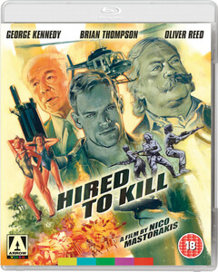 Hired to Kill - Dual Format (Includes DVD)
