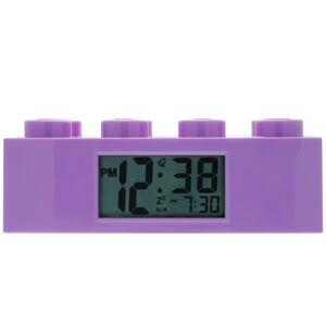 Ladrillo Reloj Despertador LEGO Friends - Lila