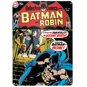 DC Comics Batman and Robin Large Tin Sign