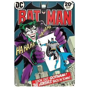 DC Comics Batman The Joker Blikken Bord (29.7cm x 42cm)