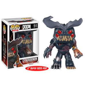 Doom Cyberdemon 6 Inch Oversized Pop! Vinyl Figure