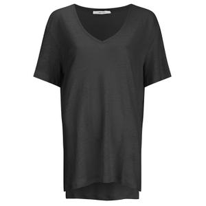 Gestuz Women's Poppy Short Sleeve Top - Black