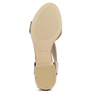 1ef414cf7bd684 Clarks Women s Bliss Meadow Gladiator Sandals - Metallic Combi Damen ...