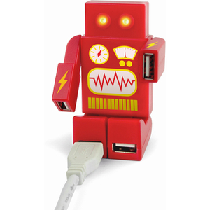 Robohub 2000 USB Hub - Red