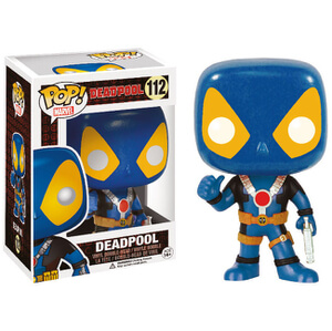 Marvel Deadpool Thumbs Up Blue X-Men exklusive Funko Pop! Figur