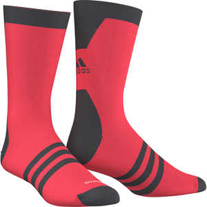 adidas Infinity 13 Socks - Shock Red/Dark Grey