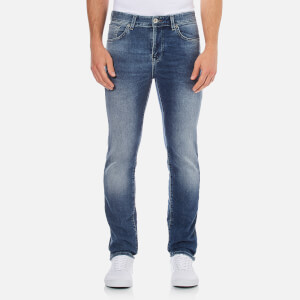 Selected Homme Men's Twomario 1392 Slim Fit Jeans - Medium Blue