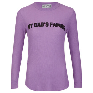 Wildfox Women's Famous Dad Sweatshirt - Grapefruit