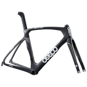 Ceepo Mamba Road Frameset - Black/Grey