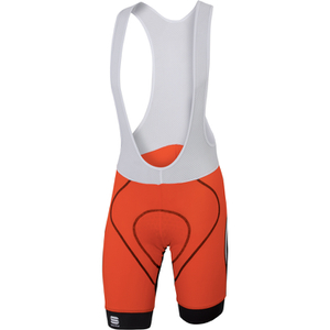 Sportful Tour Max Bib Shorts - Red/Black