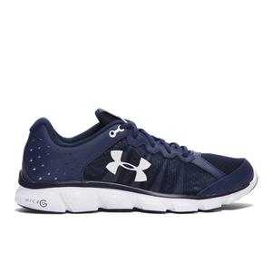 Under Armour Men's Micro G Assert 6 Running Shoes - Blue/White