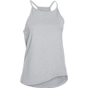 Under Armour Women's Studio Flowy Tech Tank Top - Grey