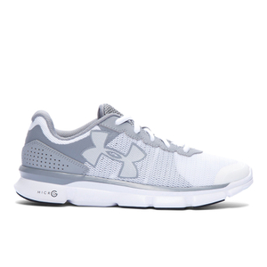 Under Armour Women's Micro G Speed Swift Running Shoes - Grey/White