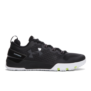Under Armour Men's Charged Ultimate Low Training Shoes - Black/White