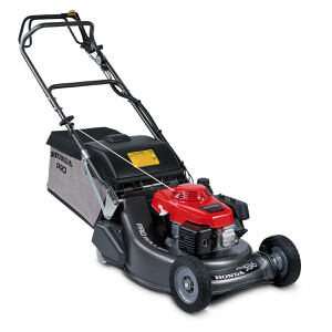 HRH536 QX 53cm Professional Single Speed Heavy Duty Rear Roller Petrol Lawn Mower