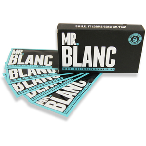 Bandes blanchissantes Mr Blanc, lot de 14 jours
