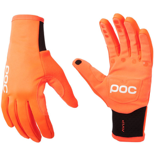POC AVIP Softshell Gloves - Zink Orange