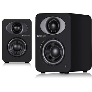 Steljes Audio NS1  Bluetooth Duo Speakers  - Coal Black