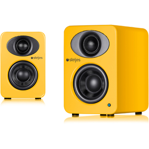 Steljes Audio NS1  Bluetooth Duo Speakers  - Solar Yellow