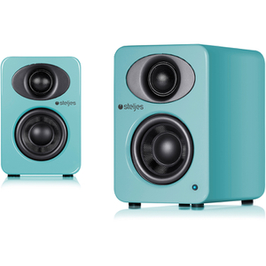 Steljes Audio NS1  Bluetooth Duo Speakers  - Lagoon Blue