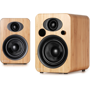 Steljes Audio NS3  Bluetooth Duo Speakers  - Bamboo