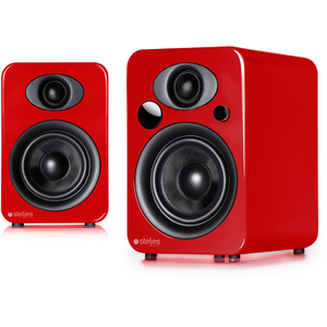 Steljes Audio NS3  Bluetooth Duo Speakers  - Vermilion Red