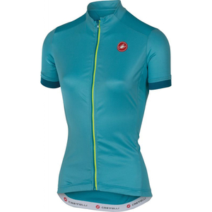 Castelli Women's Anima Short Sleeve Jersey - Blue
