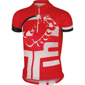 Castelli Children's Veleno Short Sleeve Jersey - Red
