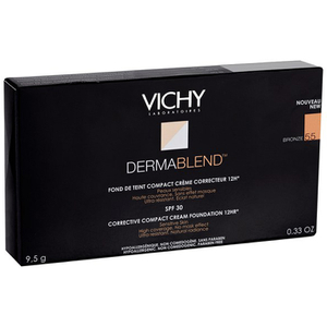 Vichy Dermablend Corrective Compact Cream Foundation (10g) (Various Shades)