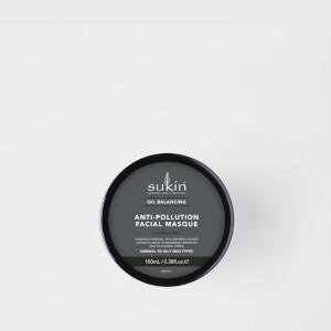 Mascarilla Facial de Carbón Anti-Contaminación + Equilibrante de Aceite deSukin 100 ml