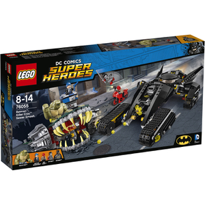 LEGO Superheroes: Batman: Killer Croc Überfall in der Kanalisation (76055)