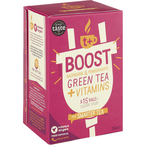 t+ Boost - Raspberry and Pomegranate Flavoured Tea