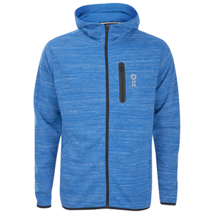 Jack & Jones Men's Core Keep Zip Through Hoody - Director Blue