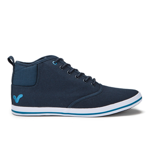 Voi Jeans Men's Cobalt Mid Trainers - Navy