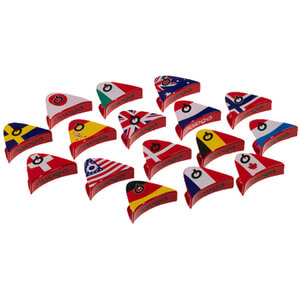 Prologo World Flag Clip
